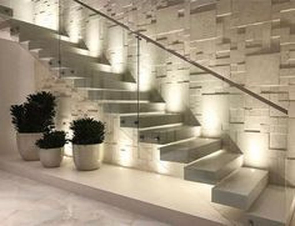 Beautiful Home Stairs Design Ideas With Modern Style 01