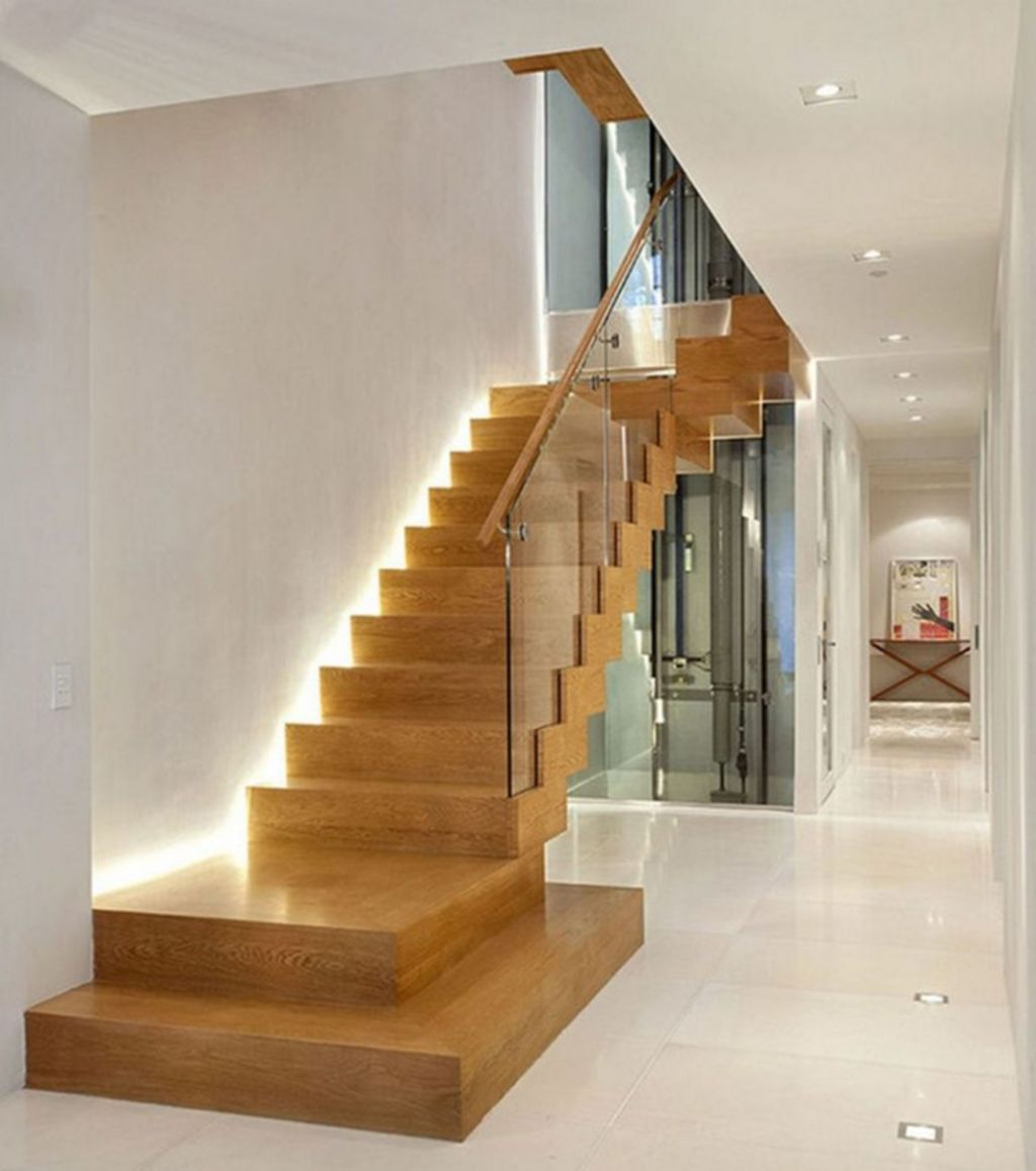 Beautiful Home Stairs Design Ideas With Modern Style 04