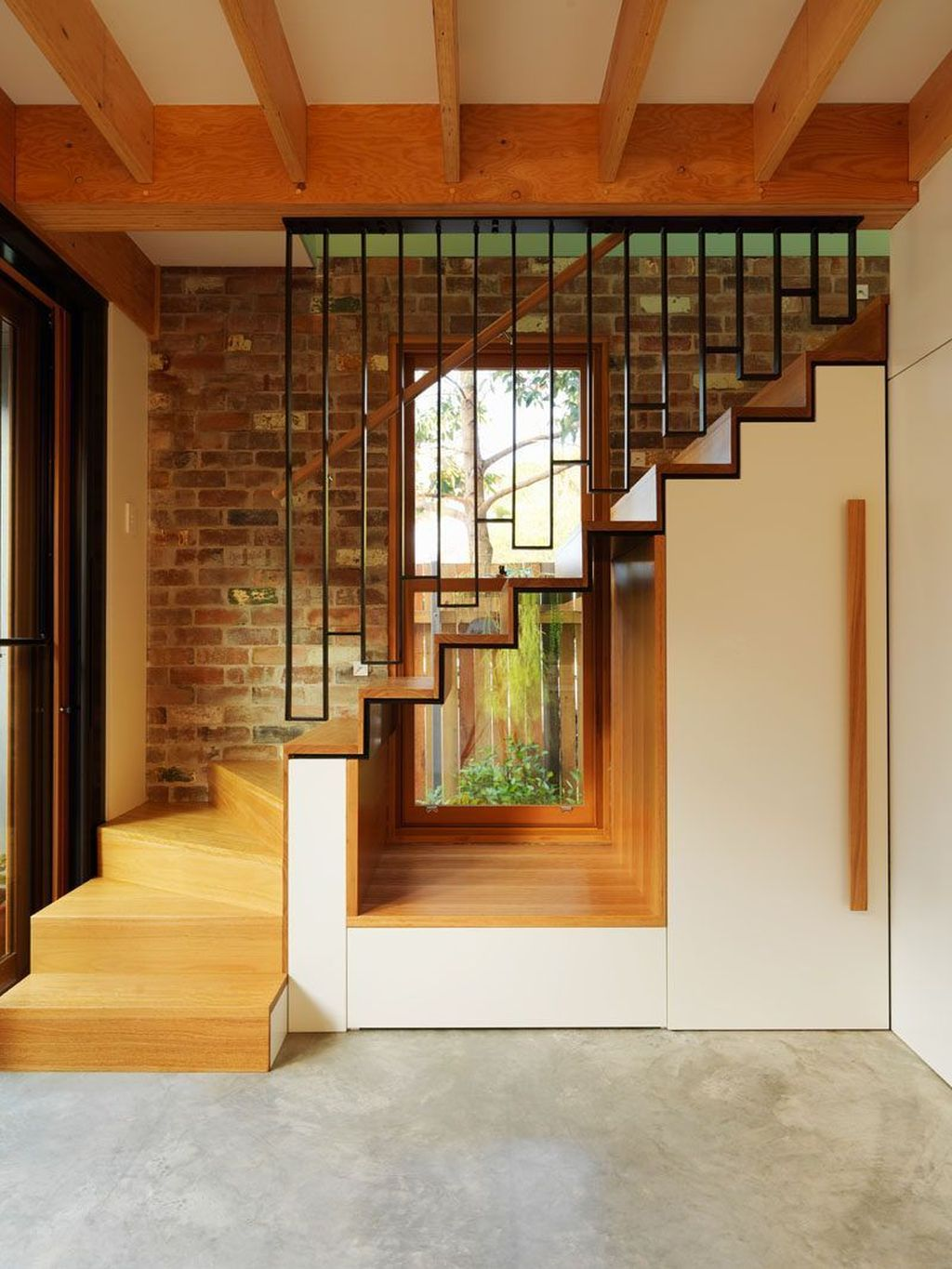 Beautiful Home Stairs Design Ideas With Modern Style 13