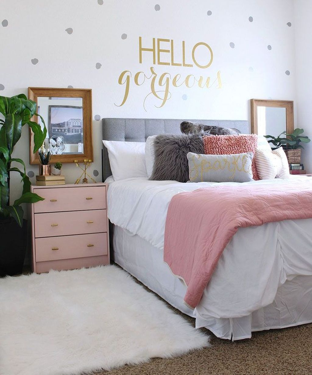 Gorgeous Bedroom Design Ideas For Teenagers 32