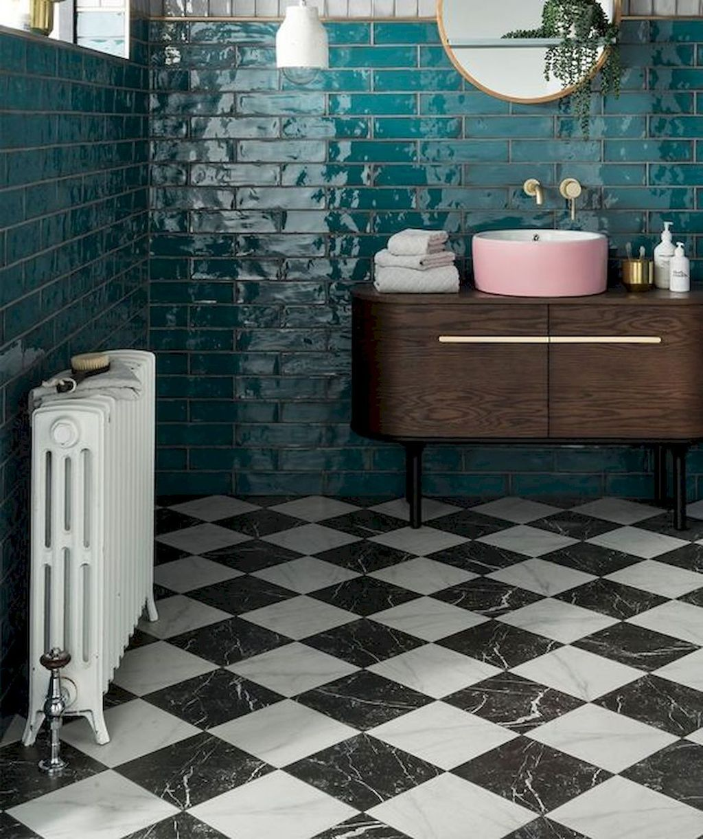 Inspiring Bathroom Tile Ideas 18