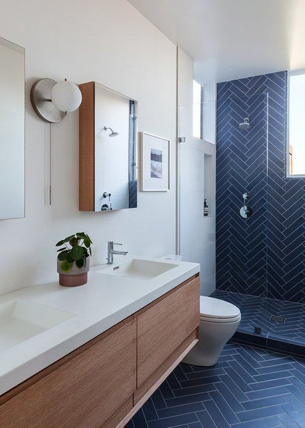 Inspiring Bathroom Tile Ideas 23