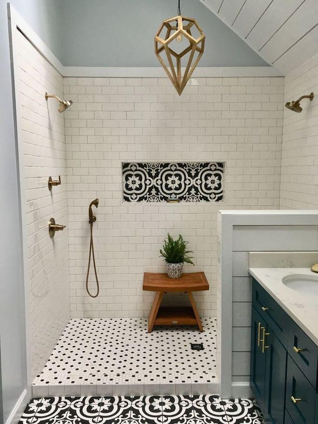 Inspiring Bathroom Tile Ideas 30