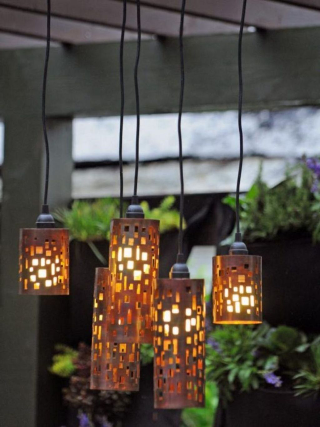 Inspiring Garden Lamps Ideas For Outdoors Decor 05
