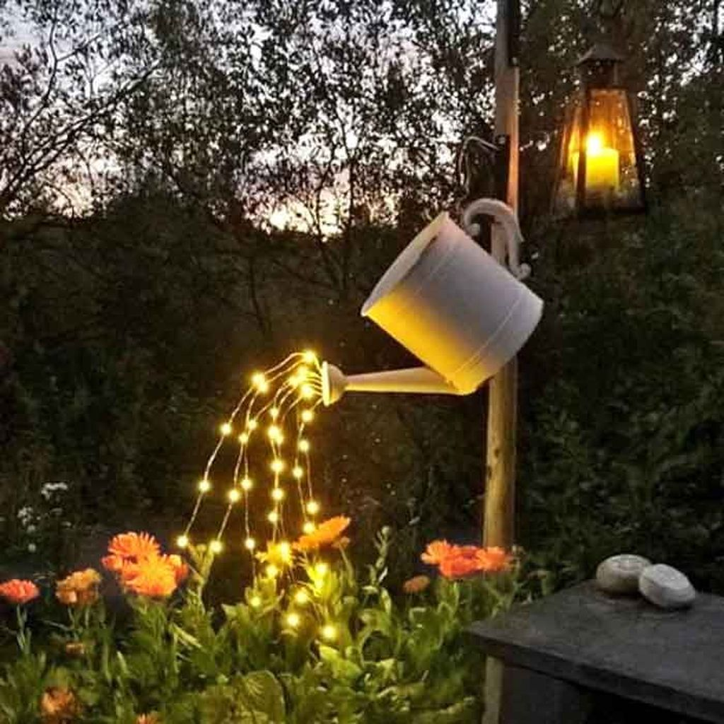 Inspiring Garden Lamps Ideas For Outdoors Decor 16