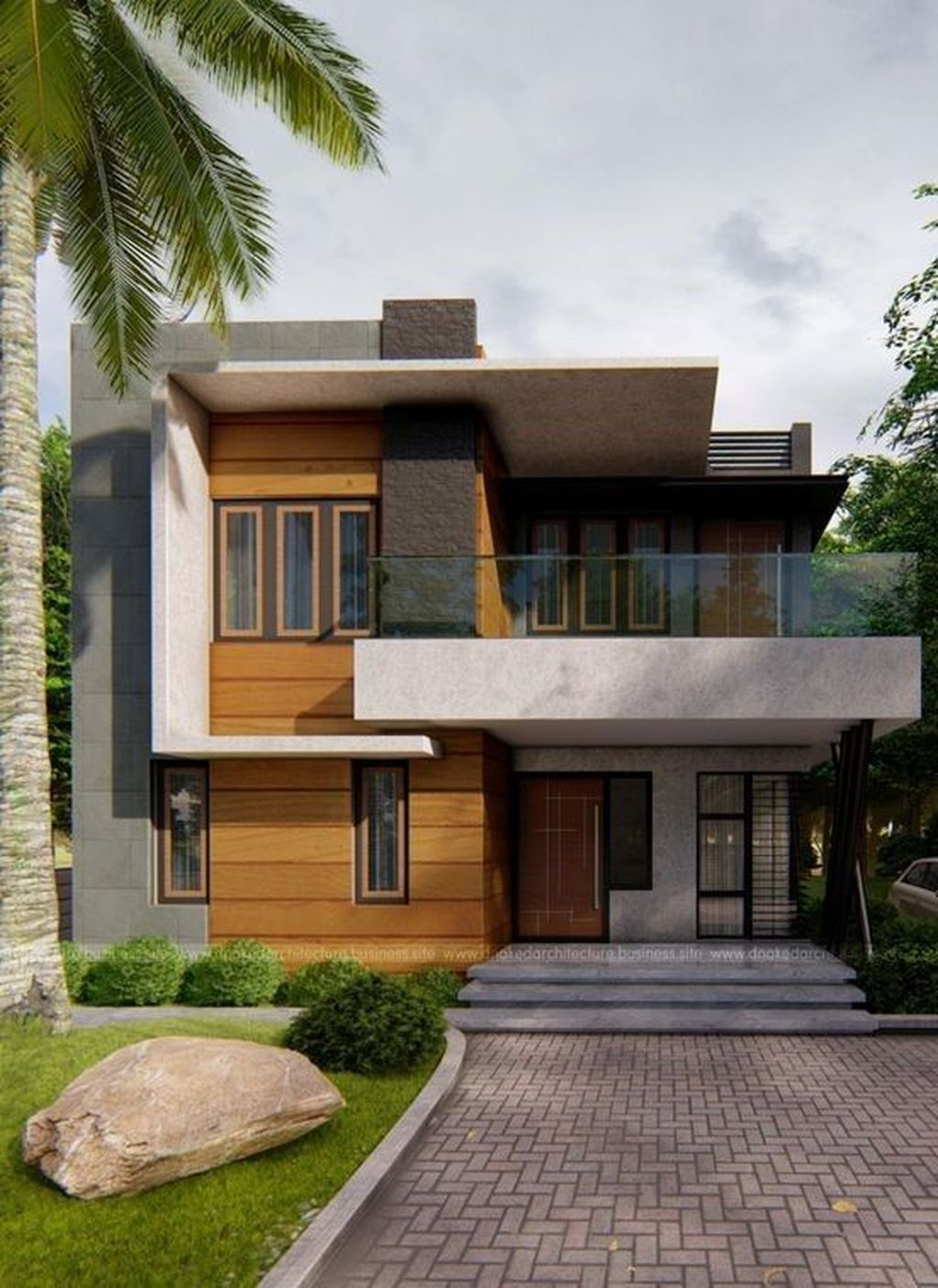 Inspiring Modern House Architecture Design Ideas 01