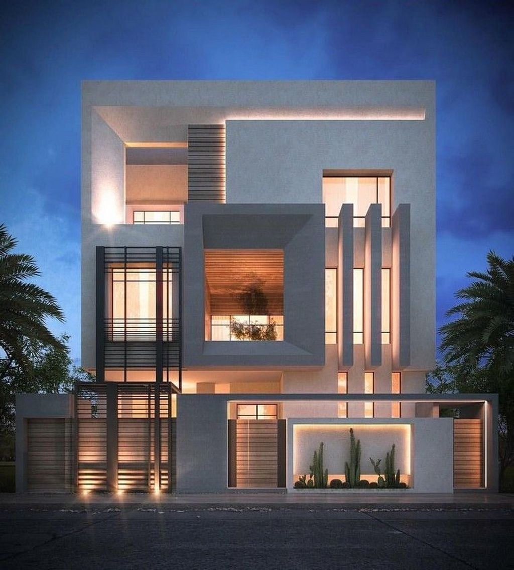 Inspiring Modern House Architecture Design Ideas 10