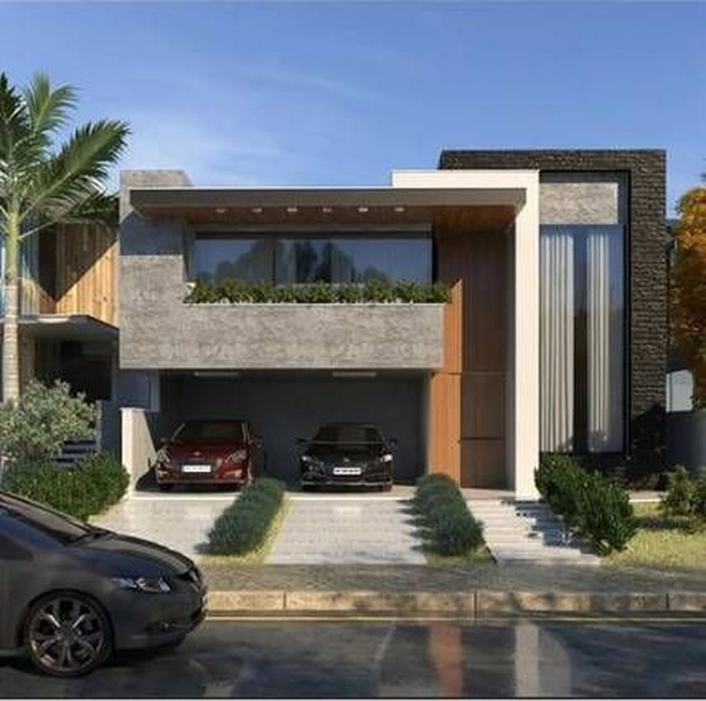 Inspiring Modern House Architecture Design Ideas 15