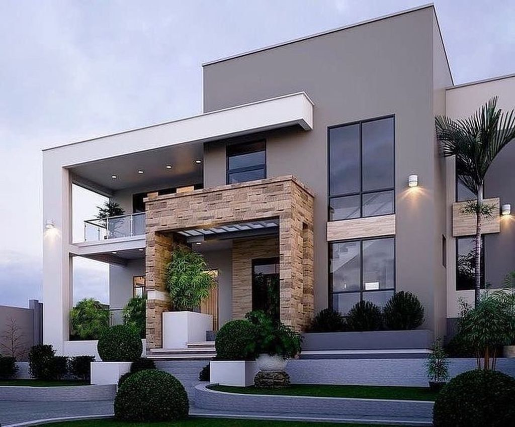 Inspiring Modern House Architecture Design Ideas 22