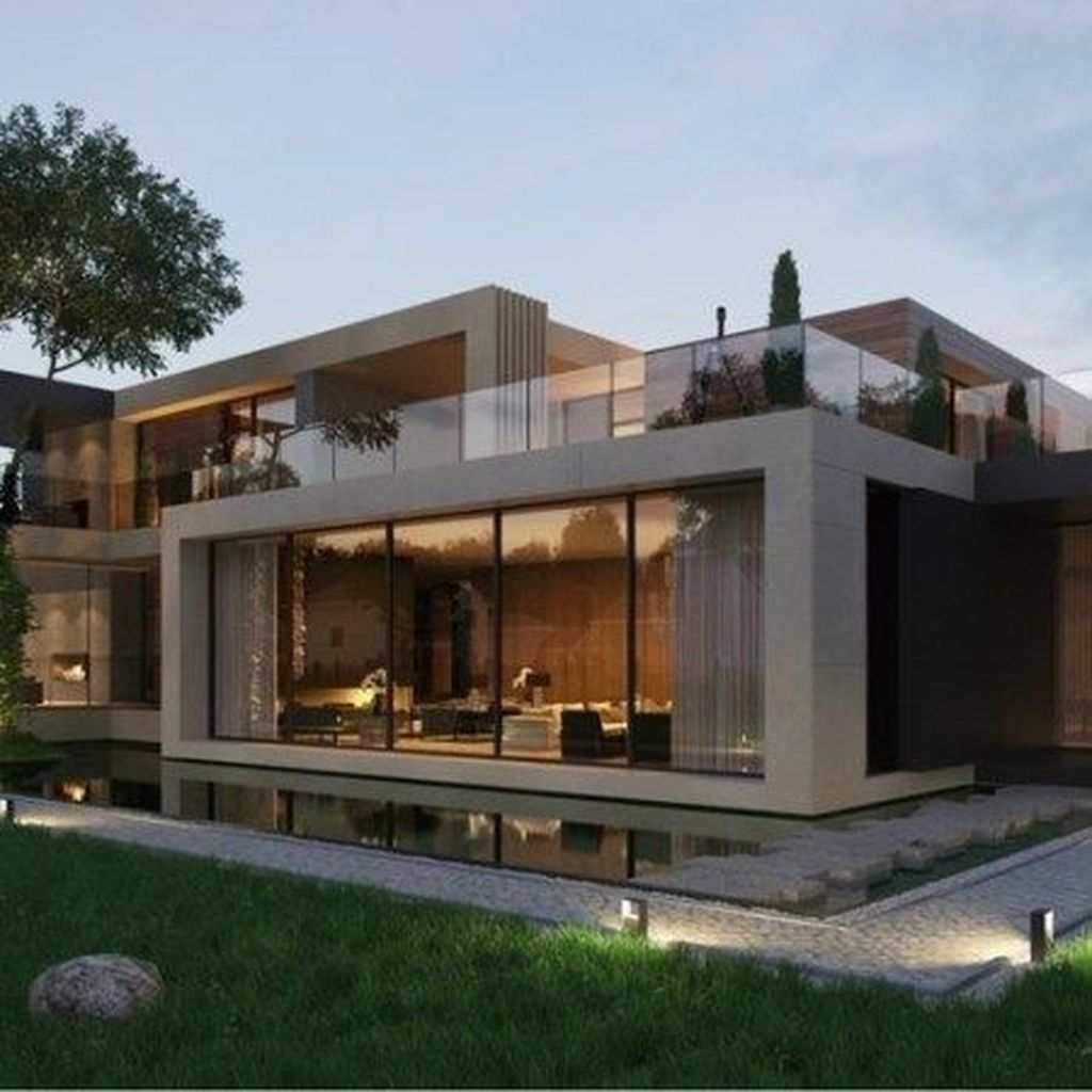 Inspiring Modern House Architecture Design Ideas 31