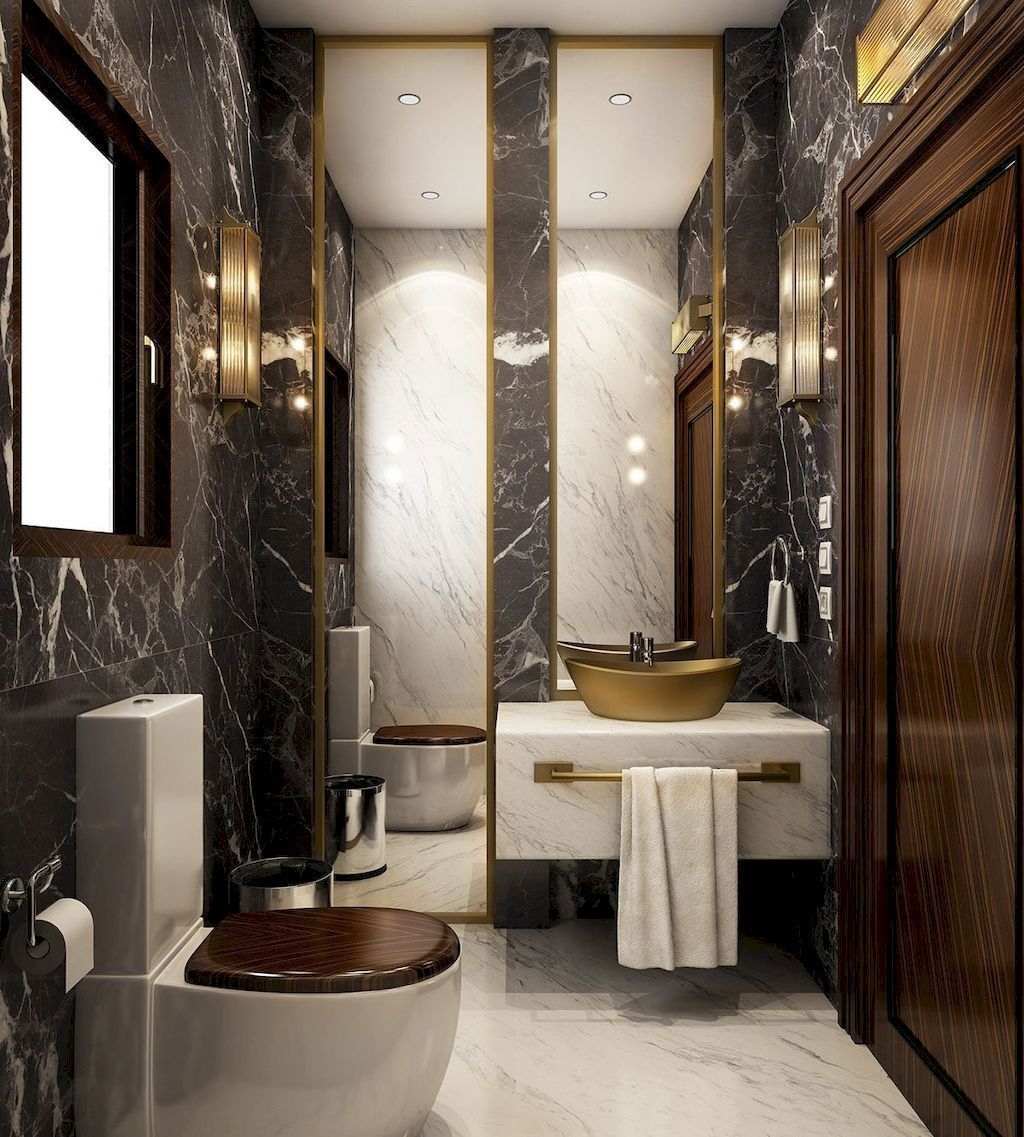 Luxury Bathroom Design And Decor Ideas 08