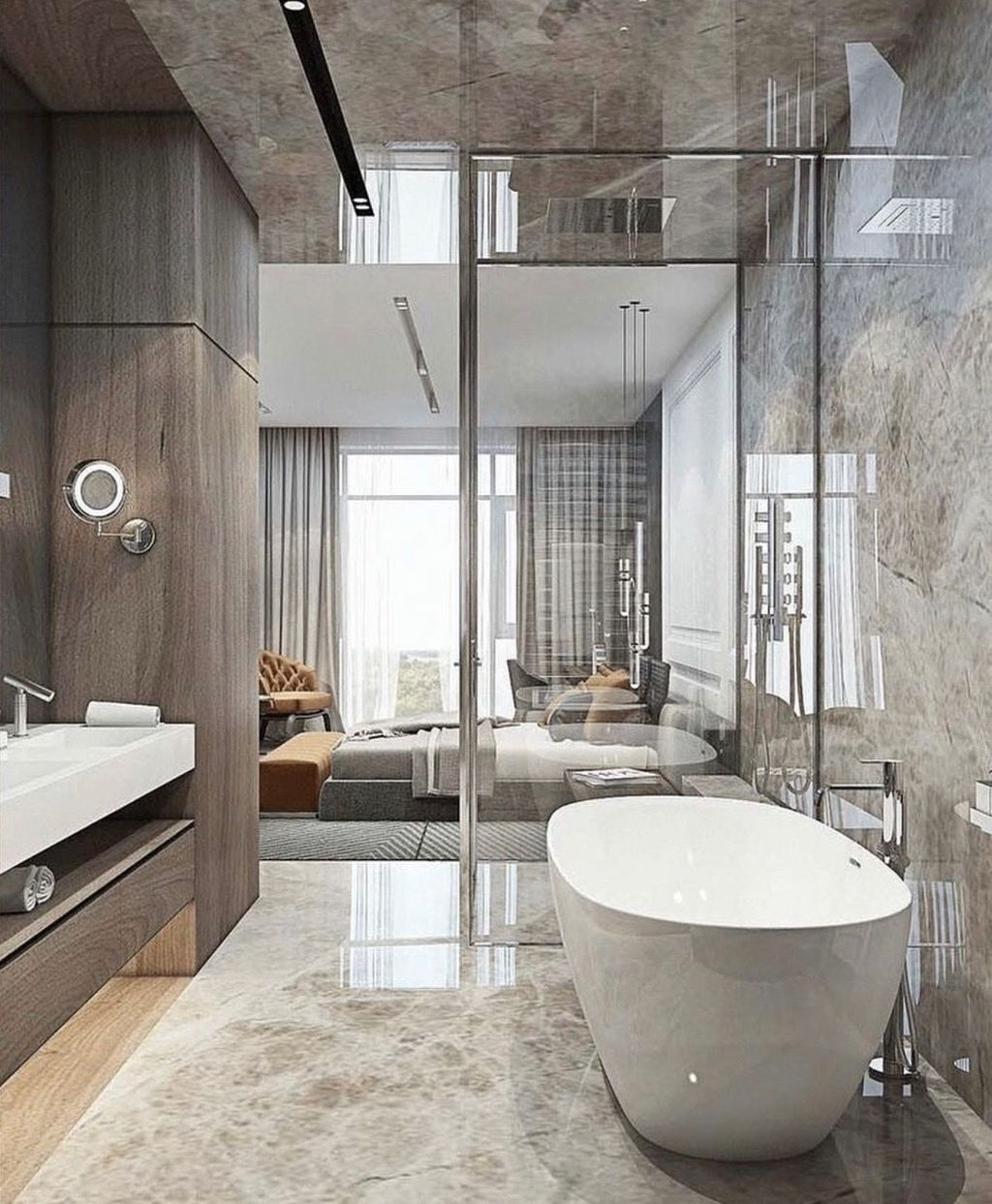 Luxury Bathroom Design And Decor Ideas 25