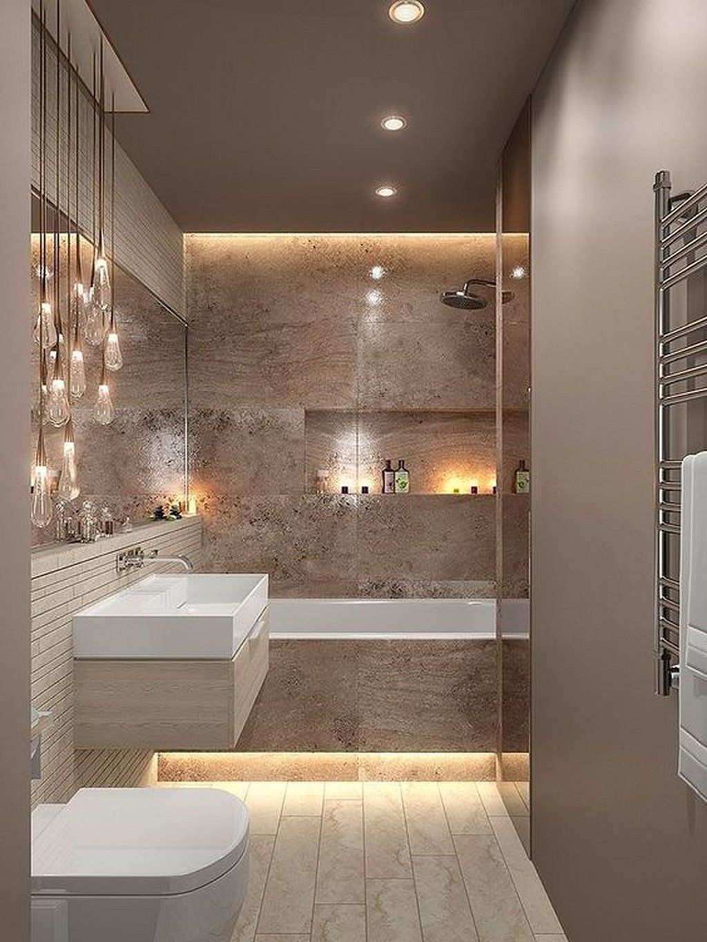 Luxury Bathroom Design And Decor Ideas 34