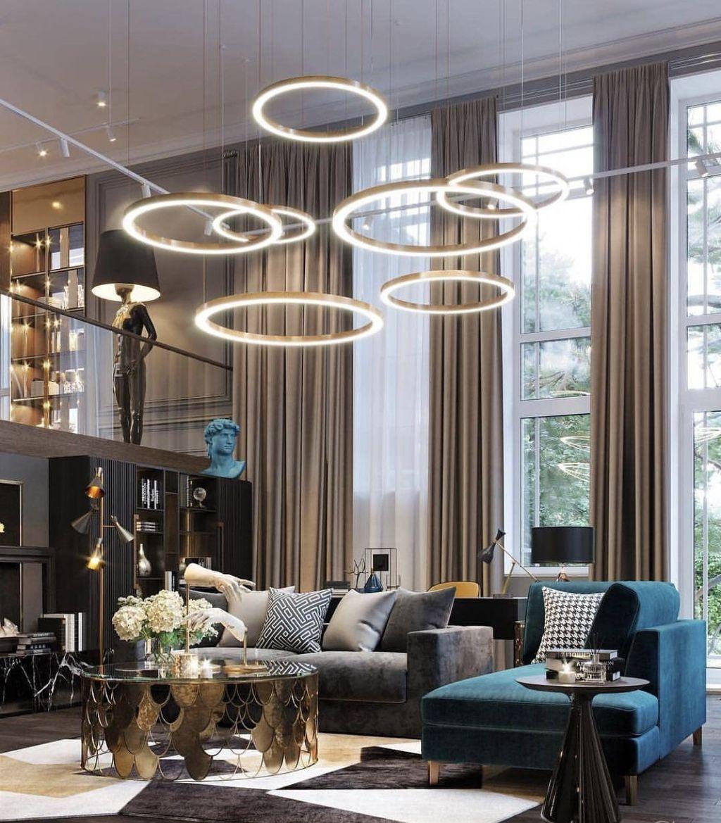 Nice Living Room Ceiling Lights Design Ideas 04