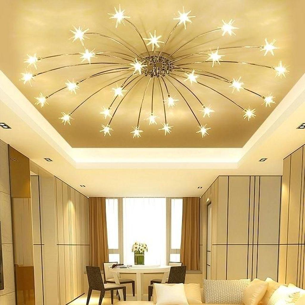 Nice Living Room Ceiling Lights Design Ideas 13