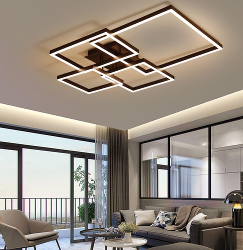 Nice Living Room Ceiling Lights Design Ideas 19