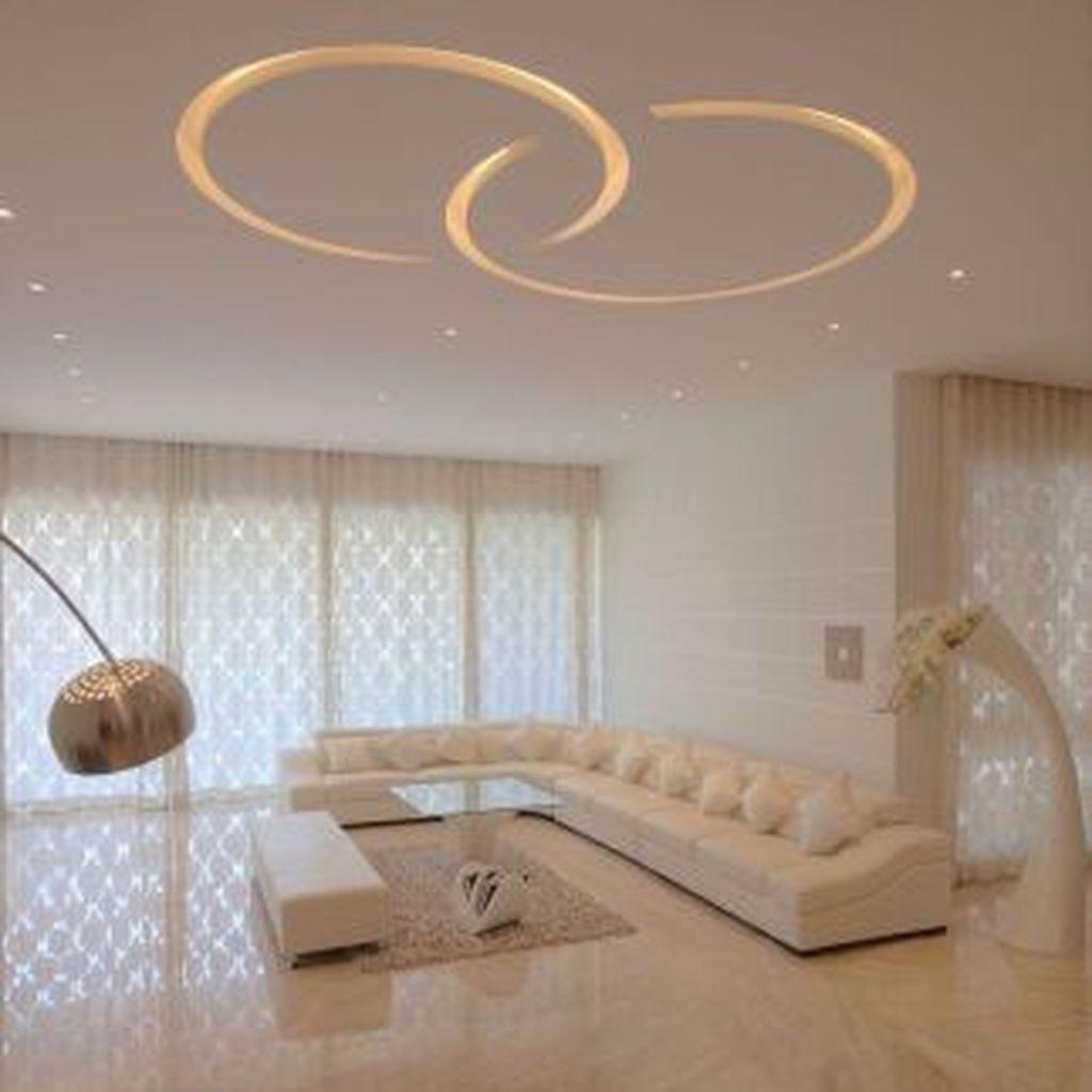 Nice Living Room Ceiling Lights Design Ideas 21