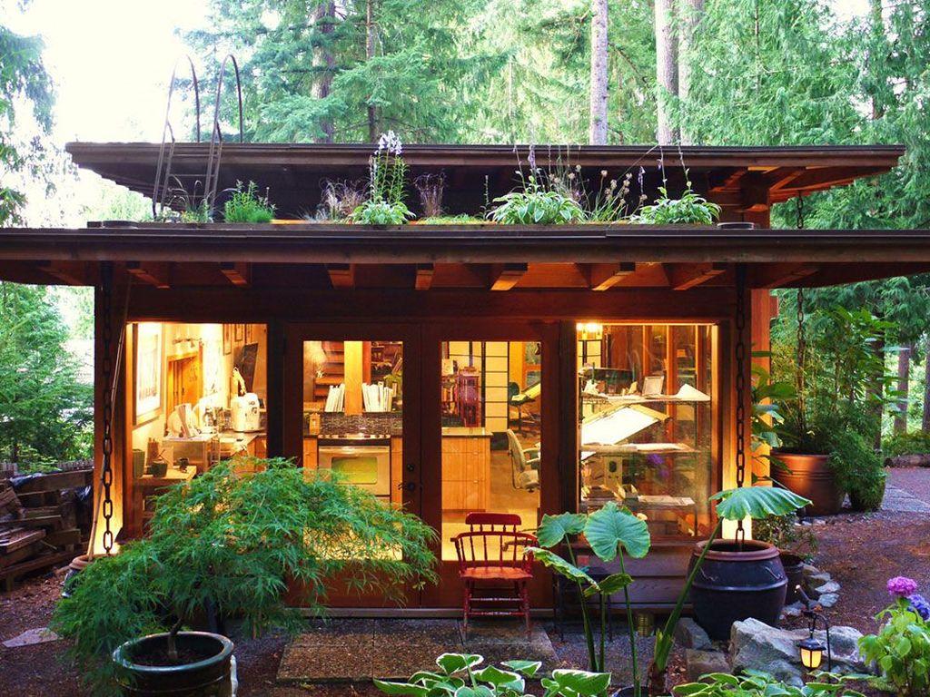 34 Nice Tiny House Design Ideas Magzhouse