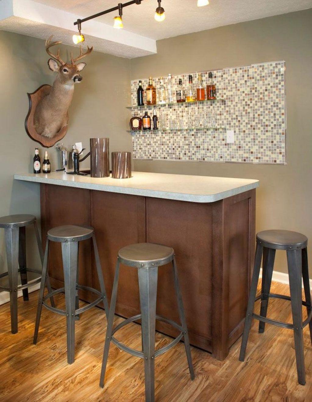 Popular Small Home Bar Design Ideas 13 1