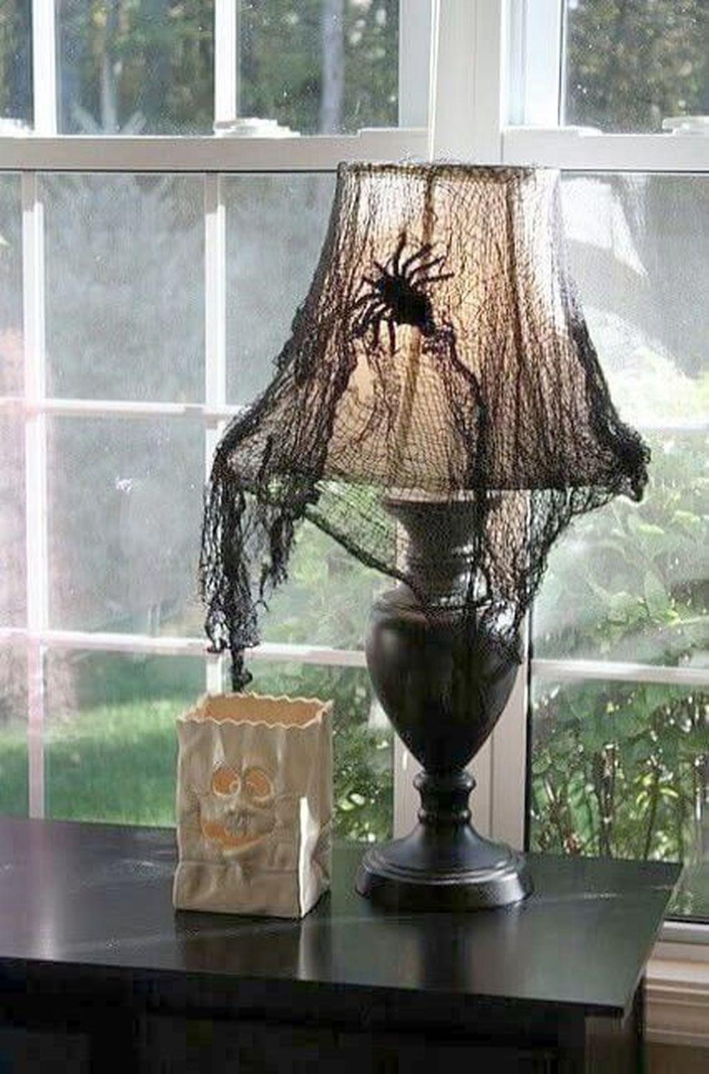 Stunning Halloween Living Room Decor Ideas Looks Scary 03