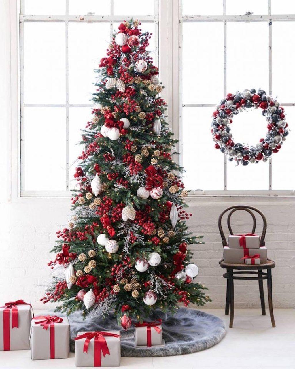 Beautiful Christmas Tree Decorations Ideas 32