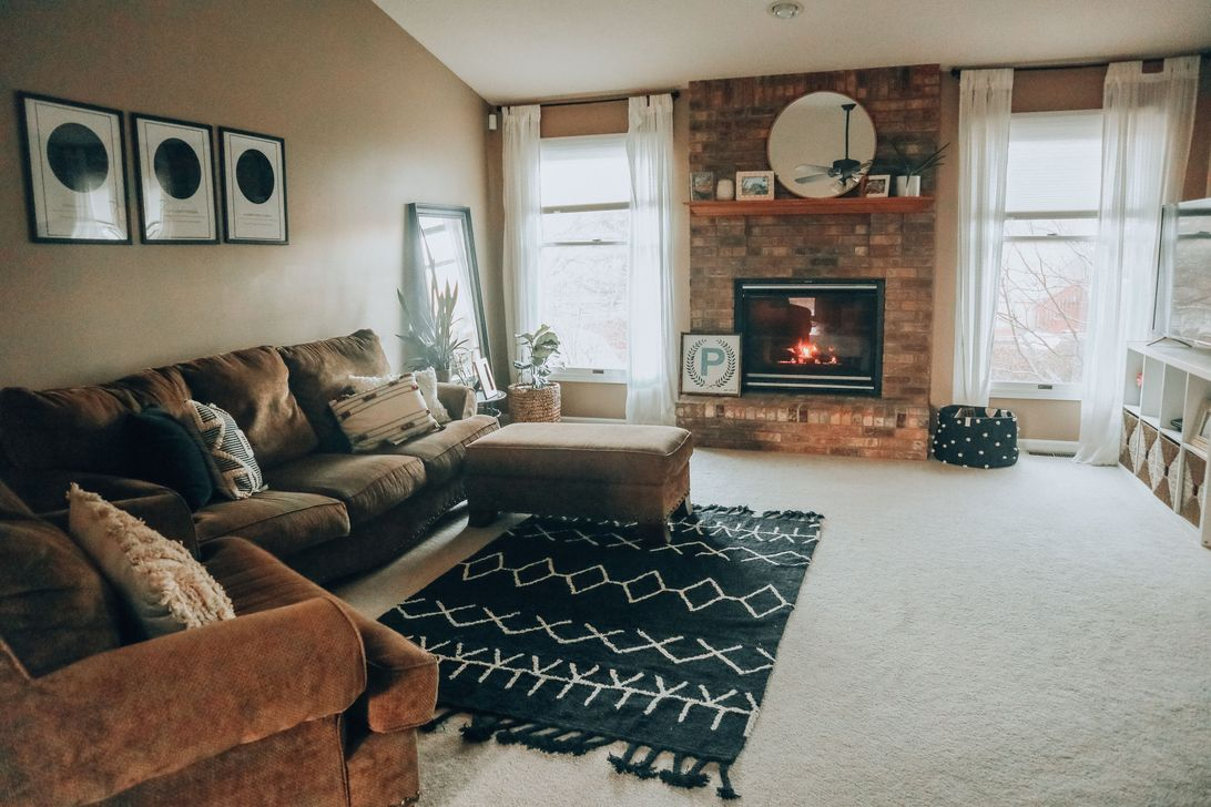Fabulous Winter Living Room Decor Ideas 19