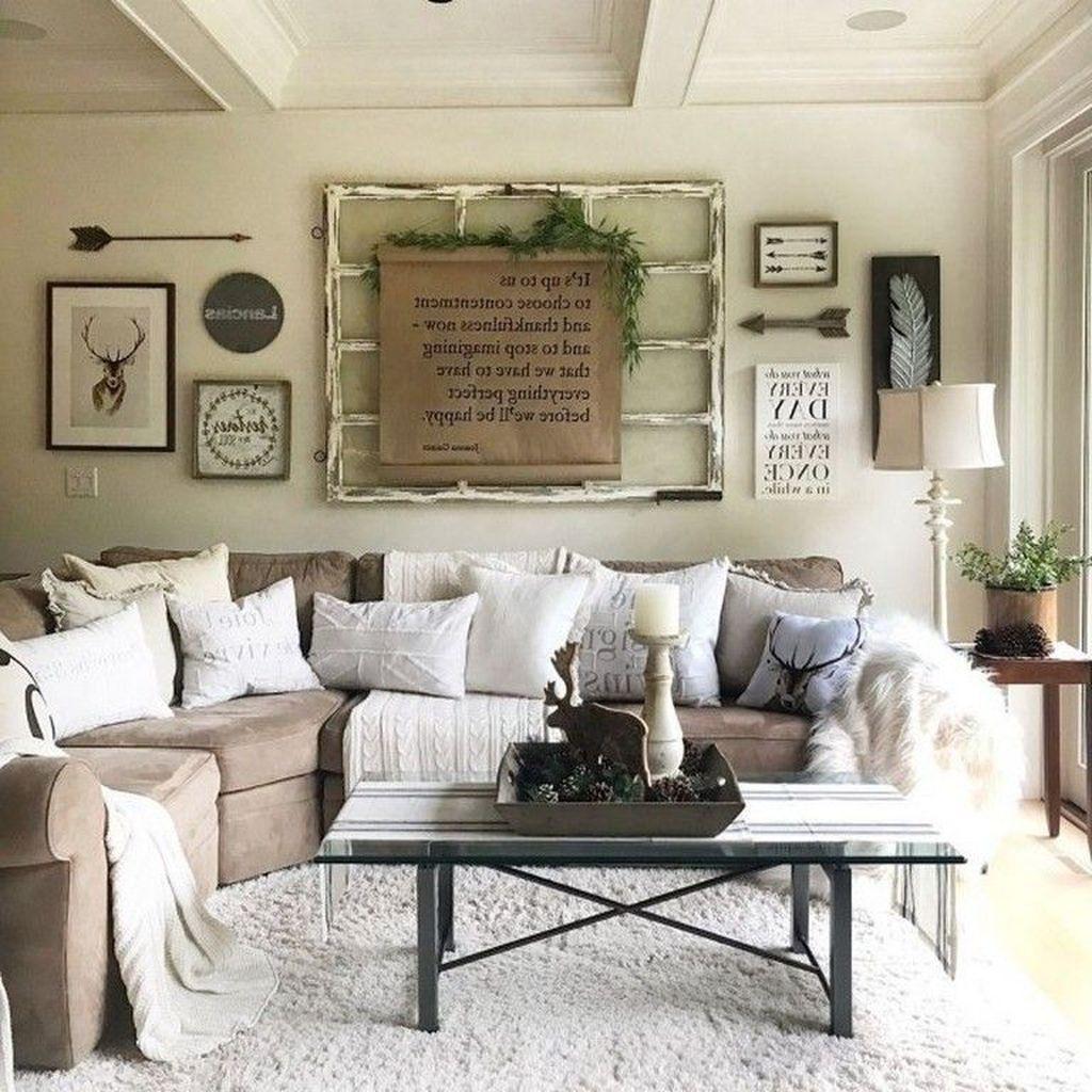 Fabulous Winter Living Room Decor Ideas 27