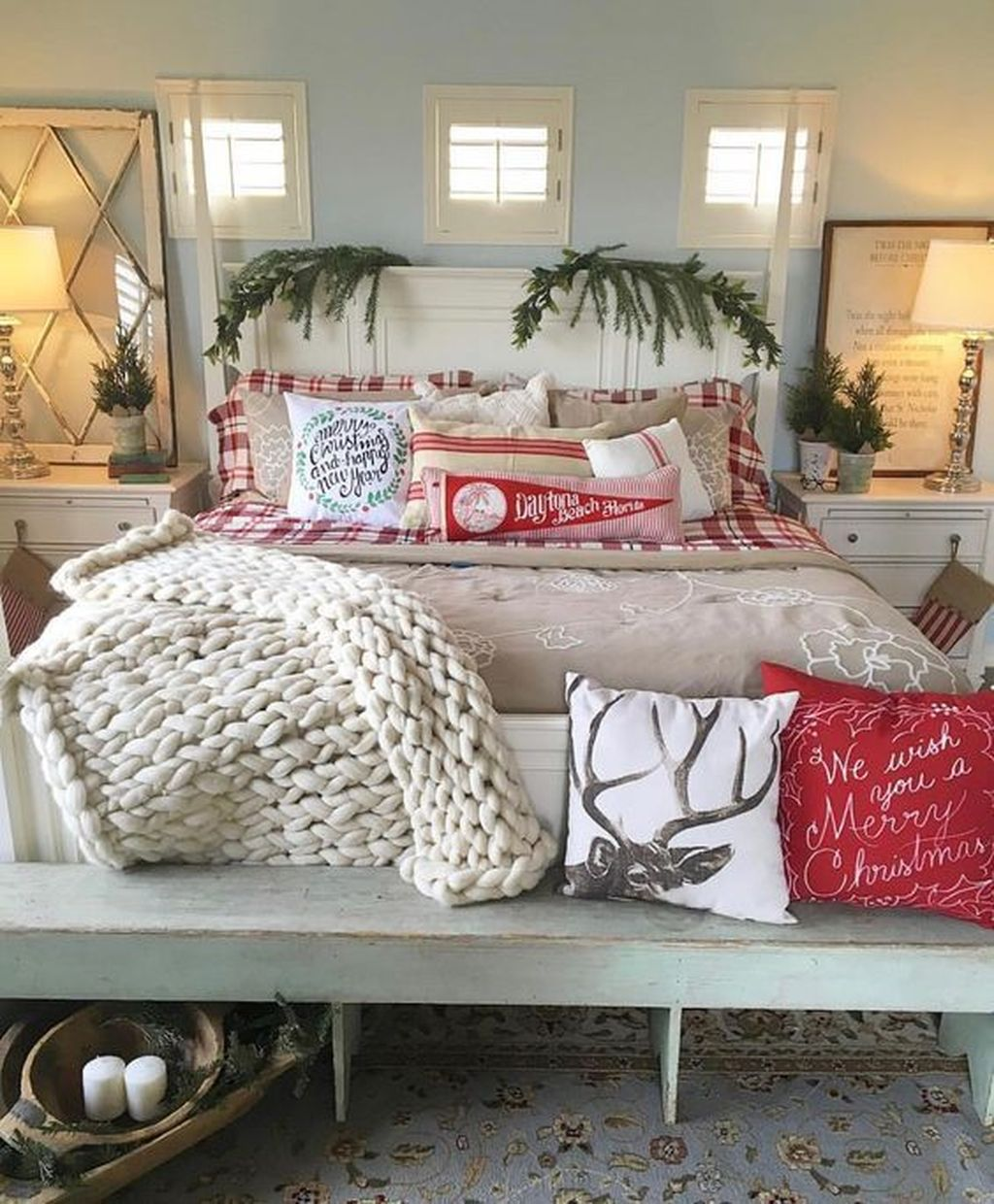Gorgeous Master Bedroom Decor Ideas For Wintertime 05