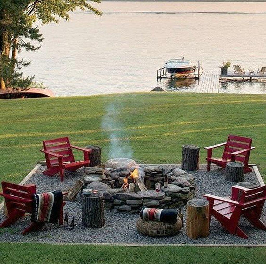 Inspiring Backyard Fire Pit Ideas 07
