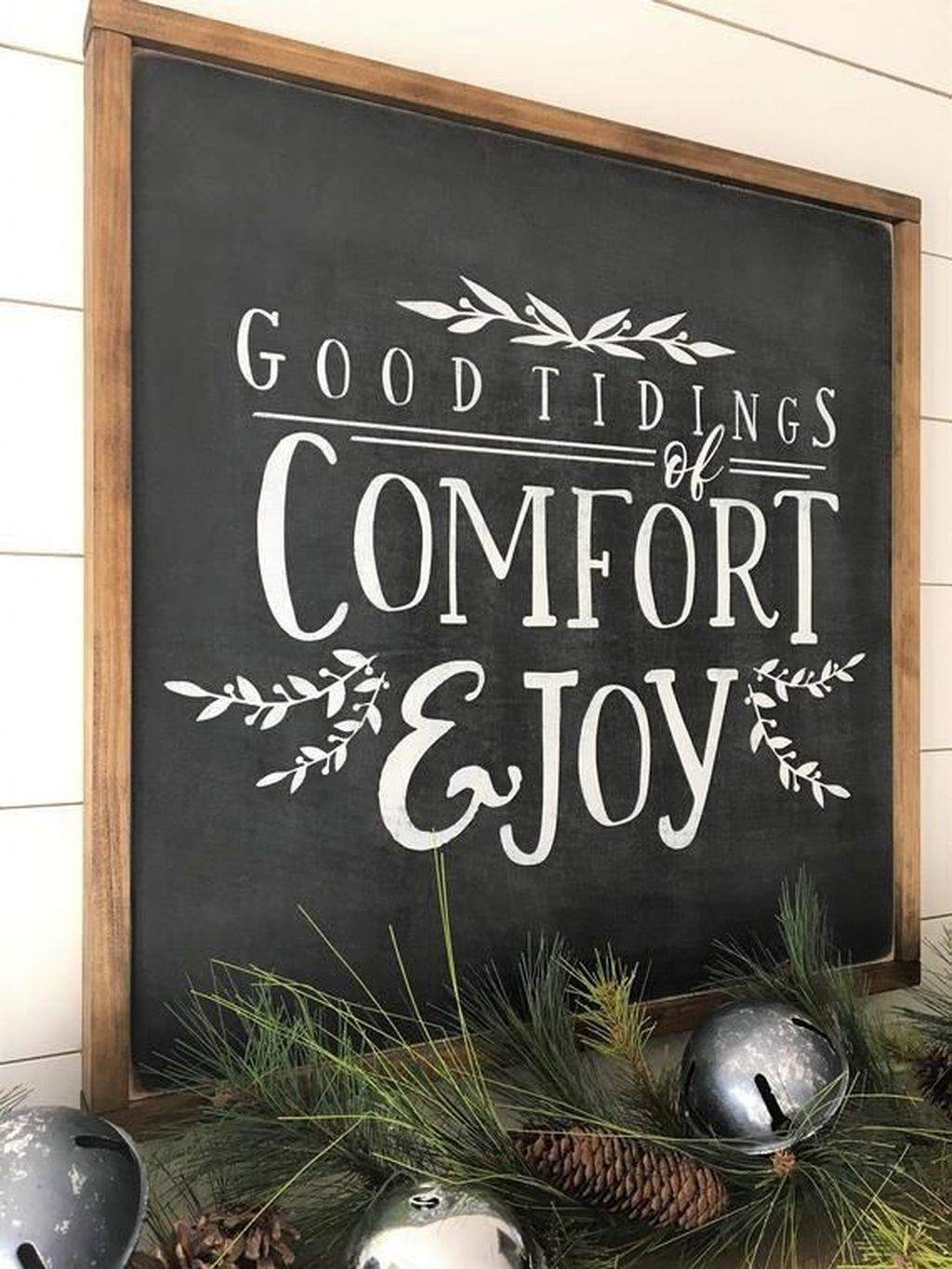 Inspiring Christmas Chalkboard Signs Design Ideas 20