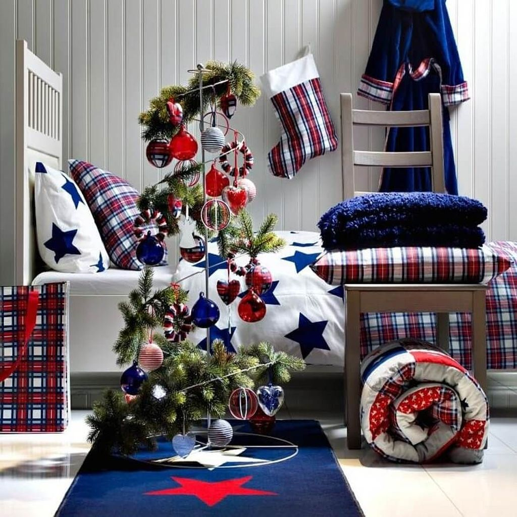 Lovely Christmas Kids Bedroom Decorations 18
