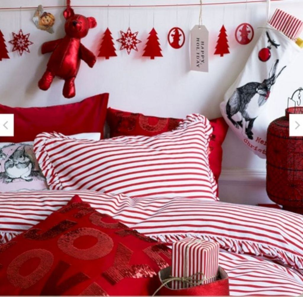 Lovely Christmas Kids Bedroom Decorations 22