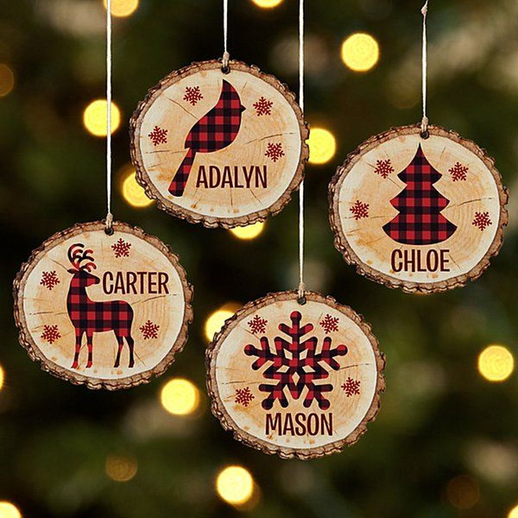 Nice Christmas Rustic Ornaments For Home Decoration 03