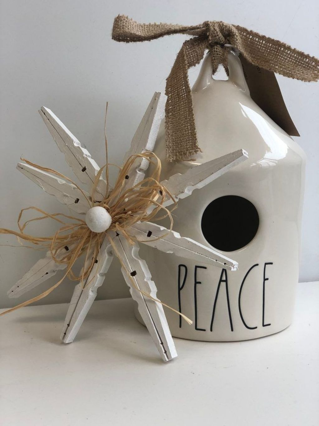 Nice Christmas Rustic Ornaments For Home Decoration 06