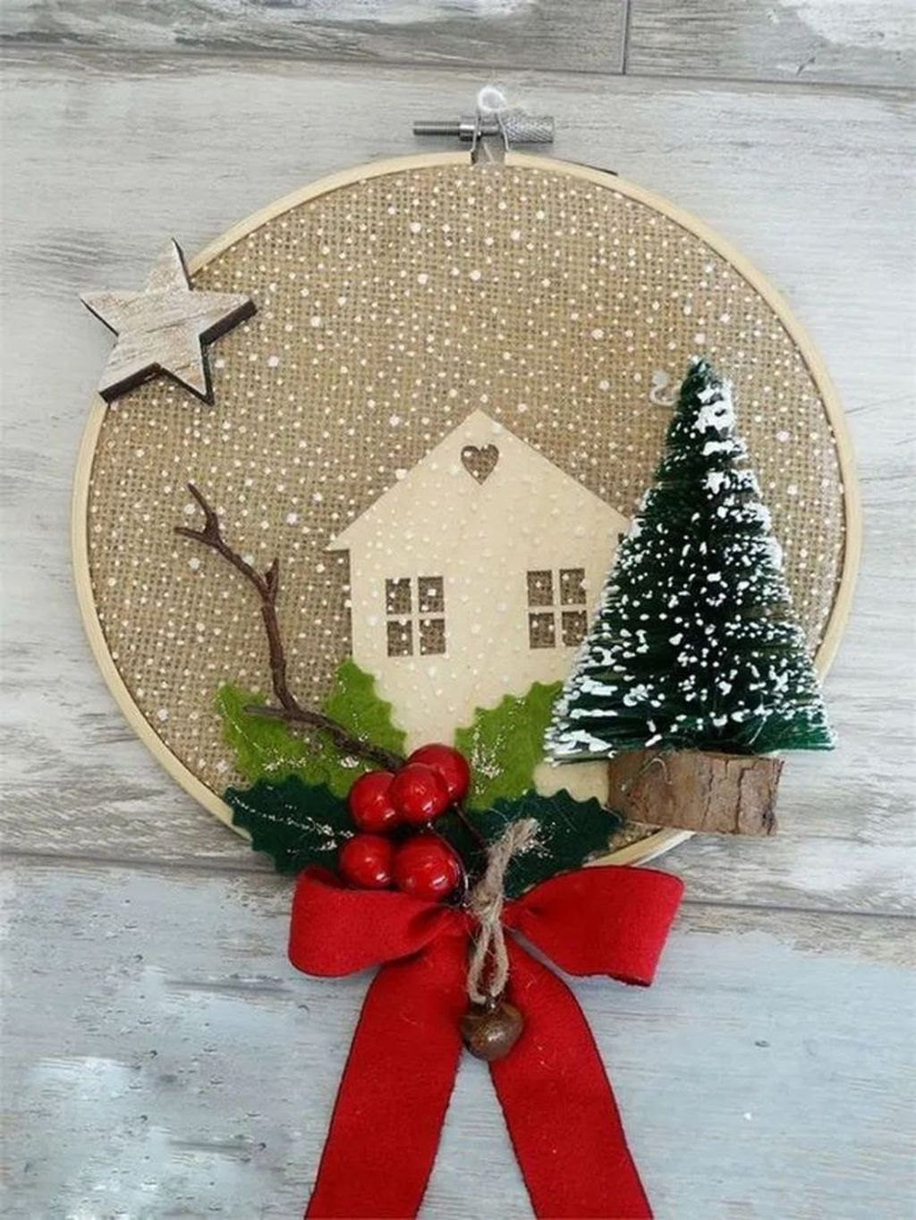 Nice Christmas Rustic Ornaments For Home Decoration 13