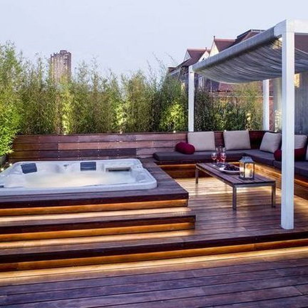Nice Rooftop Terrace Design Ideas 08