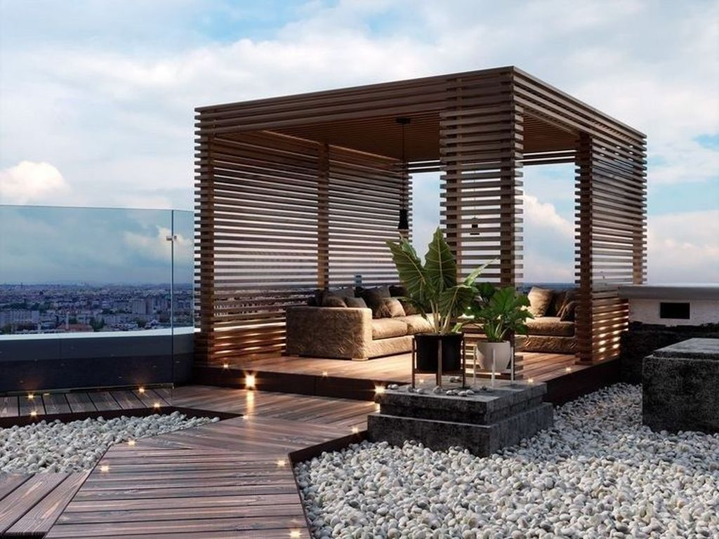 Nice Rooftop Terrace Design Ideas 11