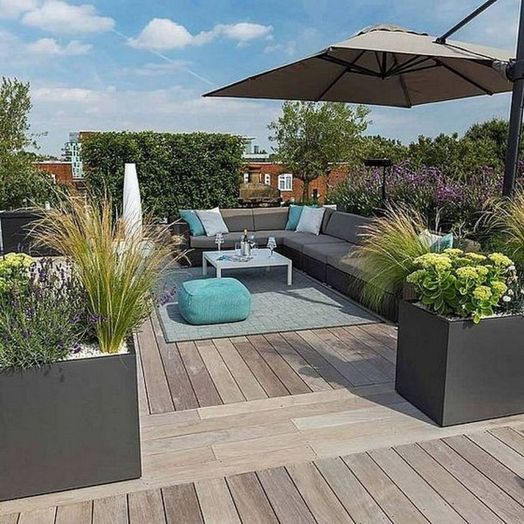 Nice Rooftop Terrace Design Ideas 15
