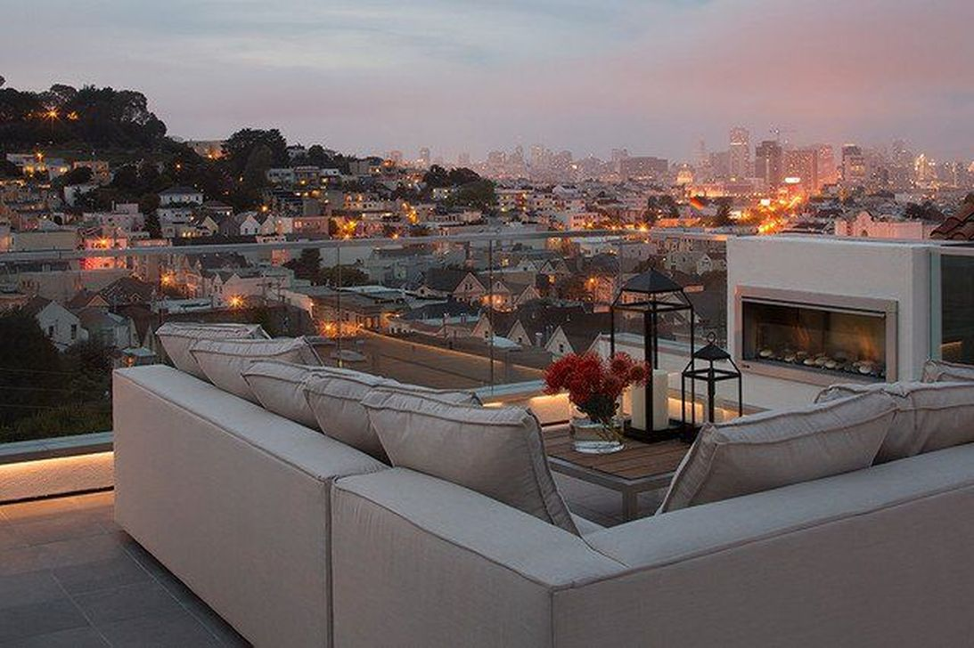 Nice Rooftop Terrace Design Ideas 19