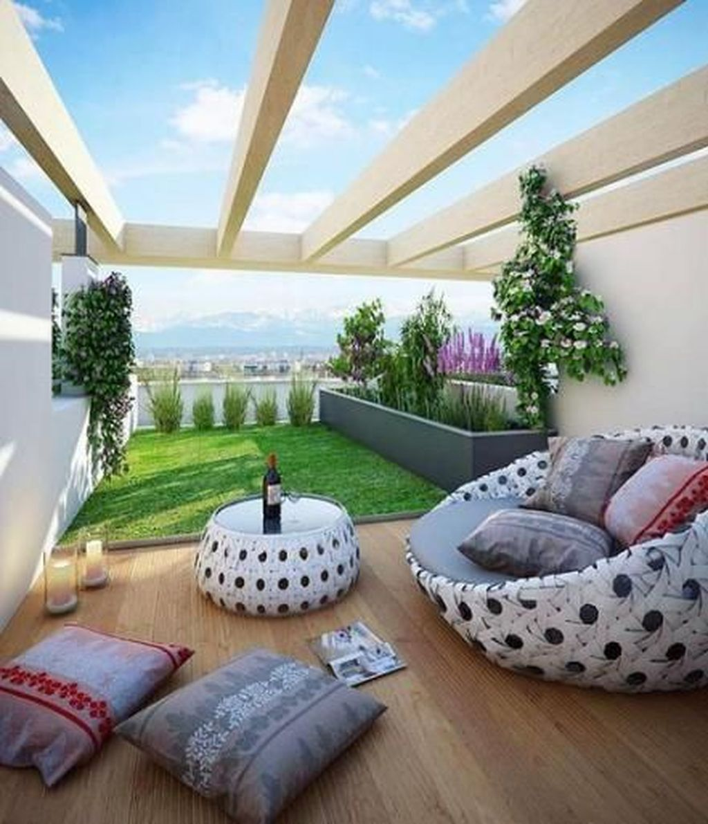 Nice Rooftop Terrace Design Ideas 21