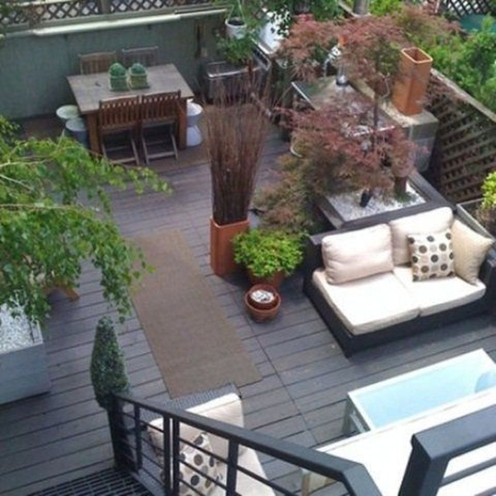 Nice Rooftop Terrace Design Ideas 22