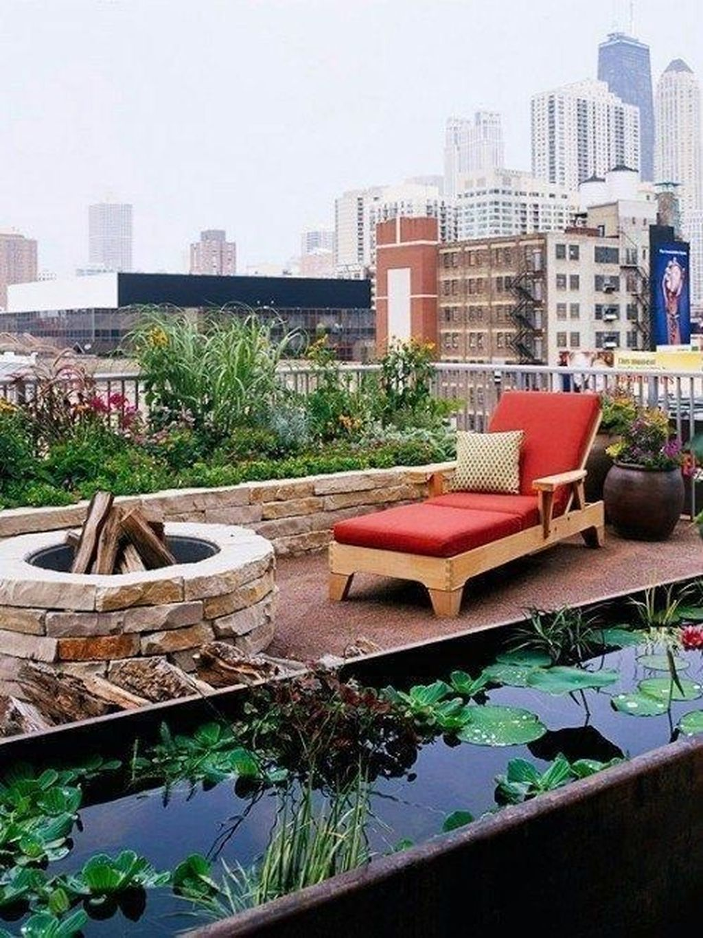 Nice Rooftop Terrace Design Ideas 25