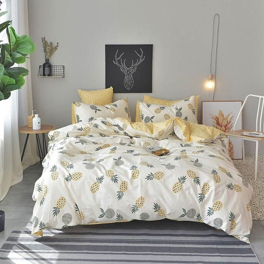 Stunning Bedding Ideas For Cozy Bedroom 12