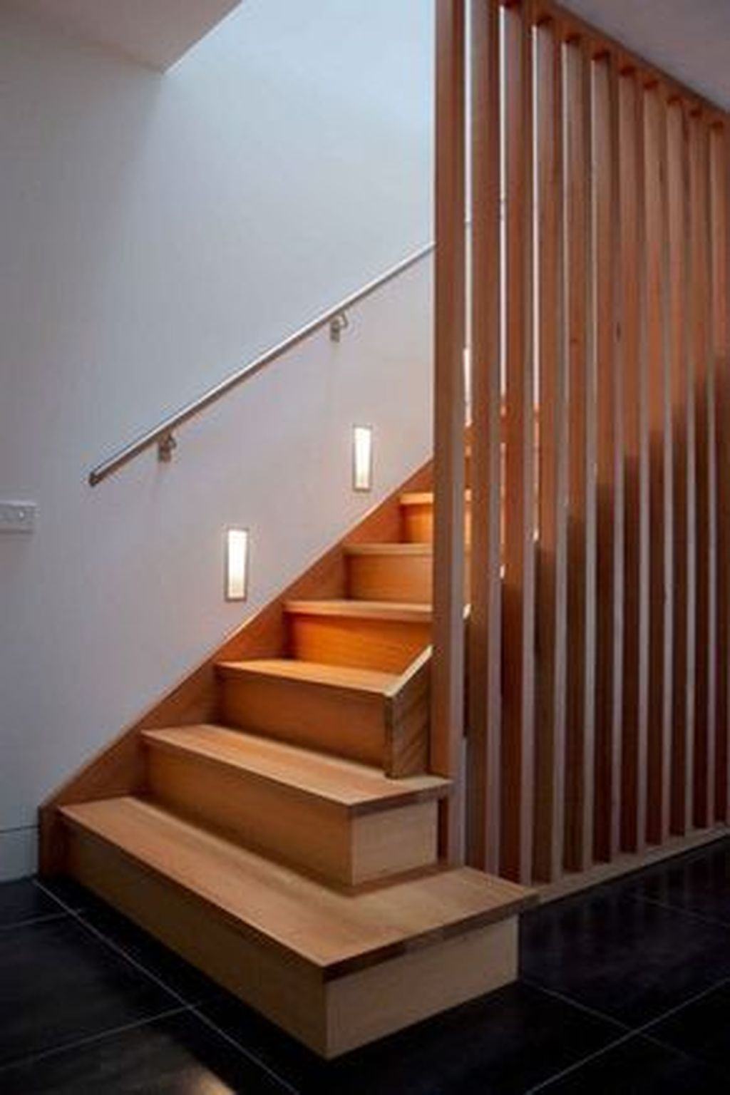 Stunning Wooden Stairs Design Ideas 10