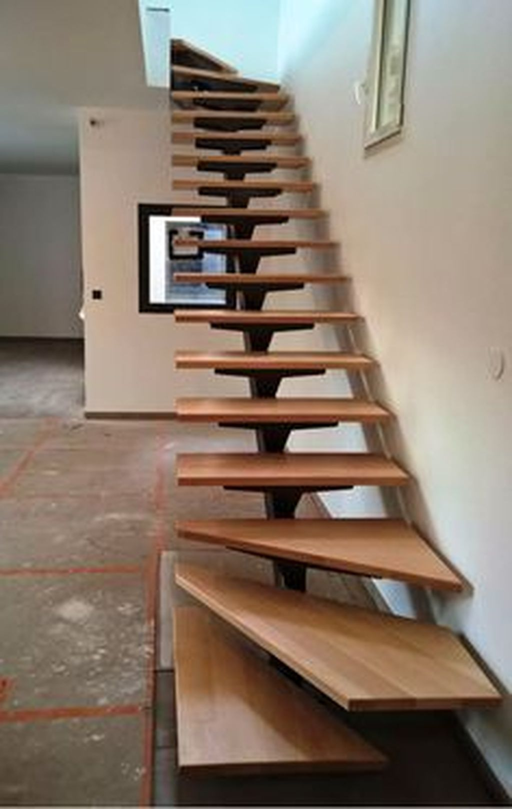 Stunning Wooden Stairs Design Ideas 11
