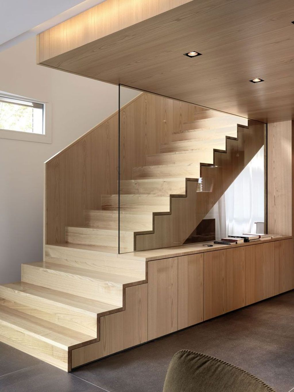 Stunning Wooden Stairs Design Ideas 16