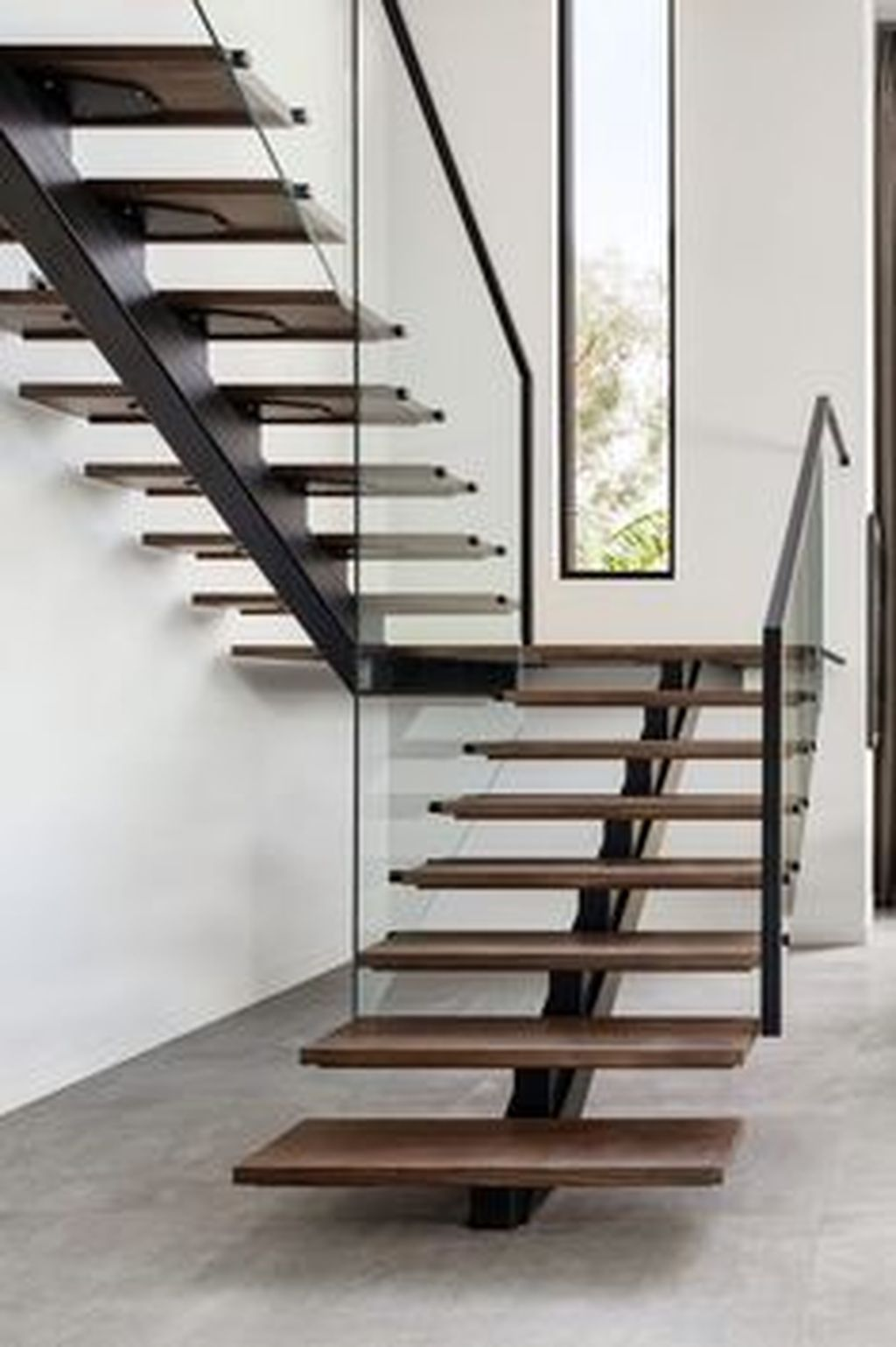 Stunning Wooden Stairs Design Ideas 19