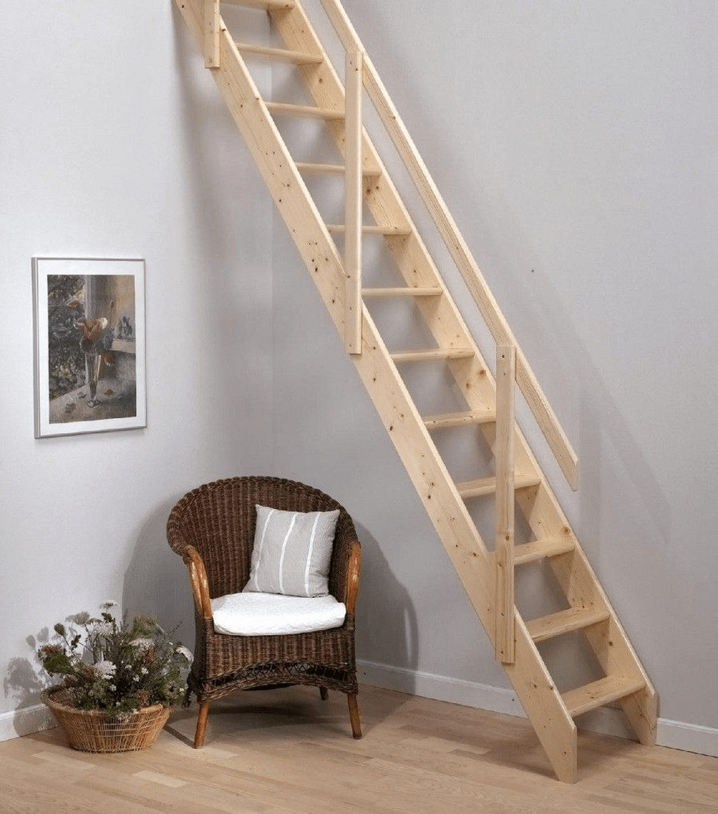 Stunning Wooden Stairs Design Ideas 22