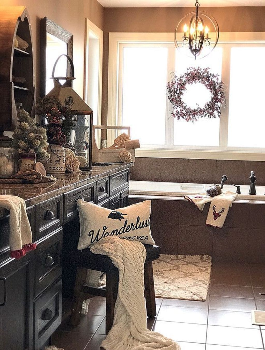 The Best Winter Bathroom Decor Ideas 16