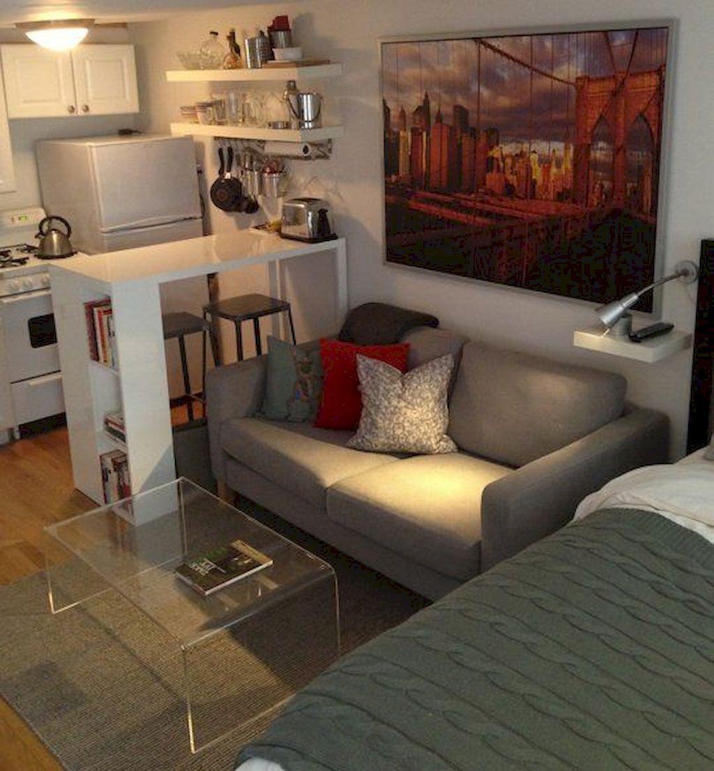 Amazing Studio Apartment Layout Ideas 12